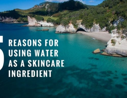 5 Reasons for using Water as a Skincare Ingredient