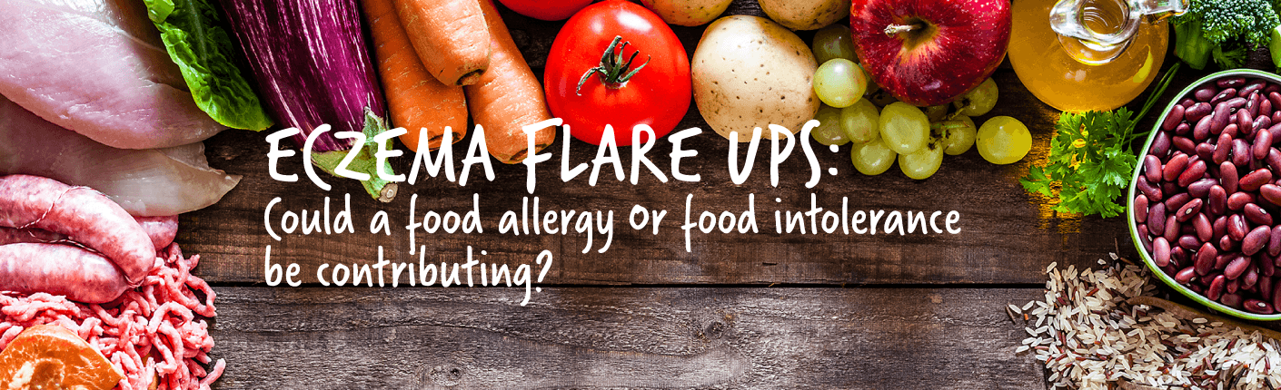 ECZEMA FLARES UPS! Could a food allergy or food intolerance be contributing?